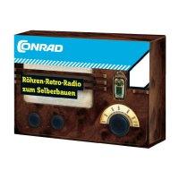 Krátkovlnné elektronkové retro rádio 10101, stavebnice, od 14 let