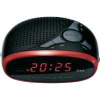 Červený radiobudík Ices ICR-200