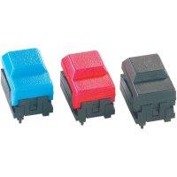 Subminiaturní ploché tlačítko s LED - modré