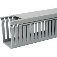 Elektroinstalační lišta OBO Bettermann, 6178035, 80 x 60 mm, 2 m, šedá