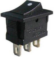 Přepínač kolébkový ON-ON 1pol.250V/1A submini