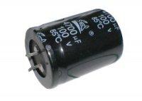 Kondenzátor elektrolytický 4G7/100V 35x50mm SNAP-IN 105°C