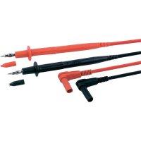 Sada měřicích kabelů banánek 4 mm ⇔ měřící hrot MultiContact XPF-484, 1 m, černá/červená
