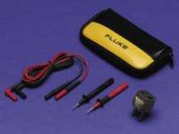 Sada měřicích kabelů banánek 4 mm ⇔ banánek 4 mm Fluke TL225-1, 1,5 m, černá/červená
