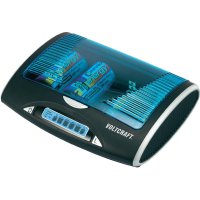 Univerzální nabíječka Voltcraft P600 LCD + 4 AA 2700 mAh