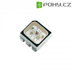 SMD LED Dominant Semiconductors, D6RTB-HJD-TU+UV+ST-1, 20 mA, 2,1 V, 130 °, 637 mcd, RGB