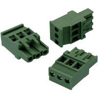 Svorkovnice Würth Elektronik 691352510008, 300 V, 5,08 mm, zelená