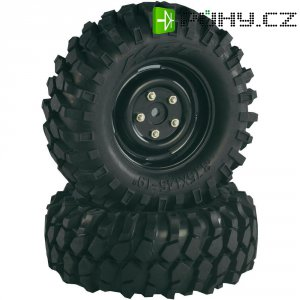 Monstertruck kolo Absima, ráfek Crawler, 1:10, 12 mm 6-hran, černá, 2 ks (2500031)