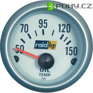 Palubní ukazatel teploty oleje Raid Hp Silber-Serie, 660221