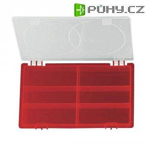 Organizér na drobné nářadí Alutec 523/Rot, 229 x 132 x 30 mm
