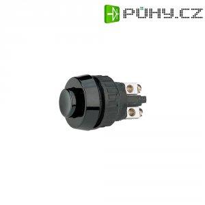 Tlačítko RAFI, 110001001.0104, 1x vyp/(zap), 250 V/AC, 0,7 A, černá