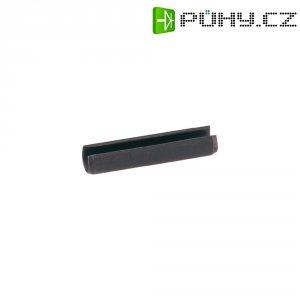 Spojovací upínací čep, Toolcraft 478343, ISO 8752, 2 mm x 10 mm