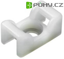 Příchytka pro vedení kabelů KR8G5, polyamidová, bílá