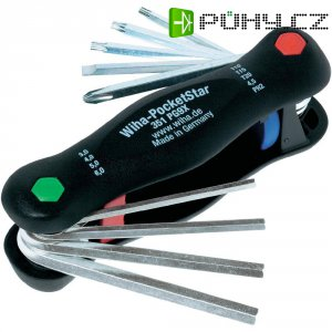 Kapesní sada imbusových líčů Wiha PocketStar 25295, 3 - 6 mm, 9dílná