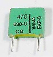 470pF/630V WIMA, svitkový kondenzátor