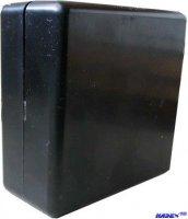 Krabička plastová U-MINI 65x65x25mm černá