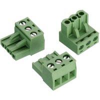 Svorkovnice Würth Elektronik 691352710002, 300 V, 5,08 mm, zelená