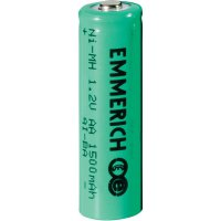 Akumulátor Emmerich, NiMH, AA,1500 mAh