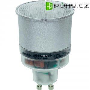 Úsporná stmívatelná žárovka Megaman GU10, 11 W, super teplá bílá