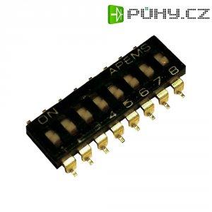 DIP spínač APEM IKH0803000, 300 V/DC, SMD, 8pól.