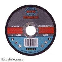 Kotouč řezný na ocel 230x1,8 ATX profi