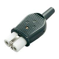 Síťová IEC zásuvka Kalthoff 1802, 250 V, 16 A, černá, 840016