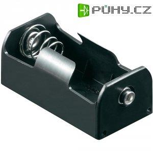 Bateriový držák na 1x Malé mono Goobay 11454, (d x š x v) 58 x 29 x 24 mm