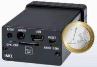 Mini GSM alarm s GPS lokátorem Renkforce GX-111 RF-3506043 černá