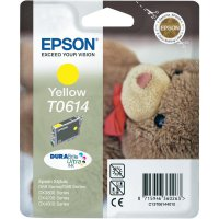Cartridge Epson T0614, C13T06144010, žlutá