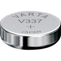 Knoflíková baterie 337 Varta, SR416, na bázi oxidu stříbra