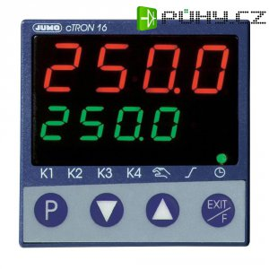 Kompaktní třístupňový termostat Jumo CTRON16, 110-240V/AC