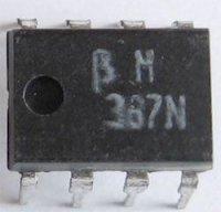 BM387N /LM387N/ 2x NF zesilovač, Ucc=9-40V, DIP8