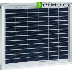 Polykrystalický solární modul, 5 W,12 V