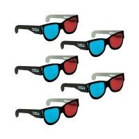 3D brýle GoPro, 5 ks