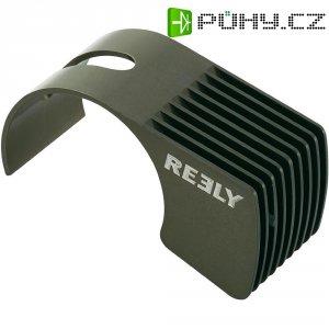 Hliníkový chladič Reely, pro motory 540, 57 x 26 x 31 mm, titanová