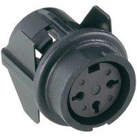 Přístrojová zásuvka Amphenol T 3527 500, 8pól., 3 - 6 mm, IP40