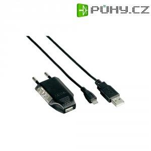 Nabíječka Hama Picco 230 V, vč. USB nabíjecího kabelu pro micro USB
