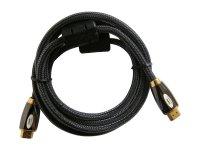 Kabel HDMI - HDMI 15m HQ (gold,ethernet,filtr) 4K