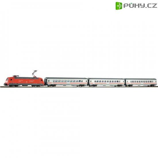Startovací sada H0 osobního vlaku a elektrické lokomotivy řady 101 Piko 59100 - Kliknutím na obrázek zavřete