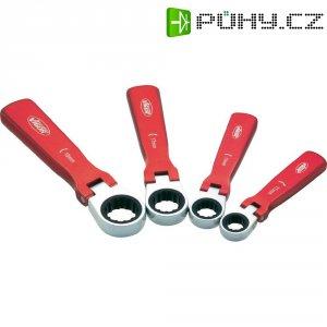 Hliníkové ráčnové klíče Vigor V1364, sada 4 ks