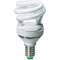 Úsporná žárovka trubková Megaman Helix E14, 8 W, studená bílá