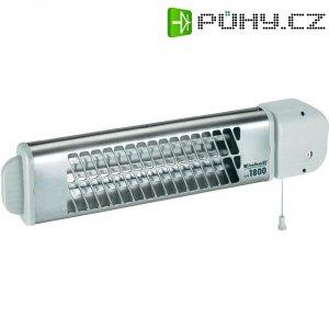 Křemíkový infrazářič Einhell QH 1800, 600/1200/1800 W, stříbrná/bílá