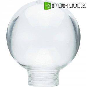 Stínítko pro žárovku, skleněné, kulatý tvar mini, čiré