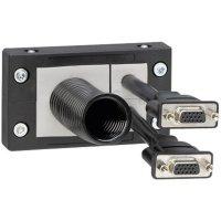 Kabelová průchodková lišta Icotek KEL 10 3 (42212), IP54, 98,3 x 58 x 17 mm, černá