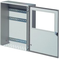 Instalační skříňka Rittal BG 1611.510, (š x v x h) 400 x 160 x 500 mm, ocelový plech, šedá, 1 ks
