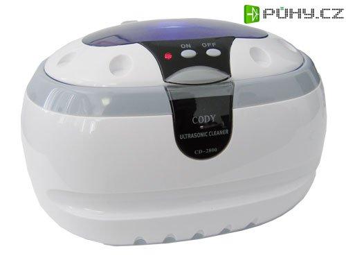Ultrazvuková čistička ULTRASONIC 600ml, CD-2800 - Kliknutím na obrázek zavřete