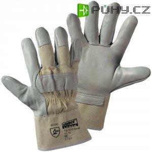 Pracovní rukavice z hovězí kůže a podšívkou, velikost 10