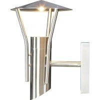 Venkovní nástěnné halogenové svítidlo, GU10, max. 35 W, nerez