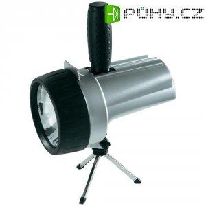 Akumulátorová ruční LED svítilna Varta 18681101401, 4 W, černá/stříbrná