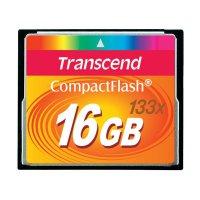 Paměťová karta CF Transcend Standard, 16GB, 133x